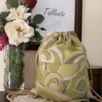 Designer Drawstring Backpack
